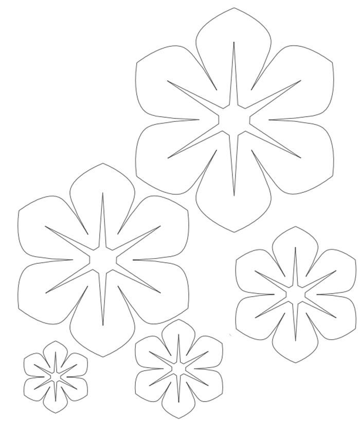 flor de feltro para tiara   moldes