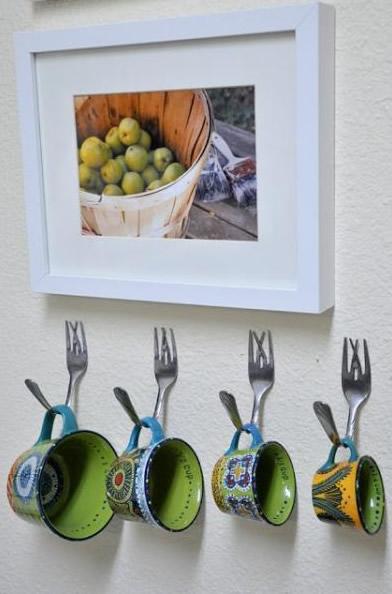 Ideias com artesanato com colheres