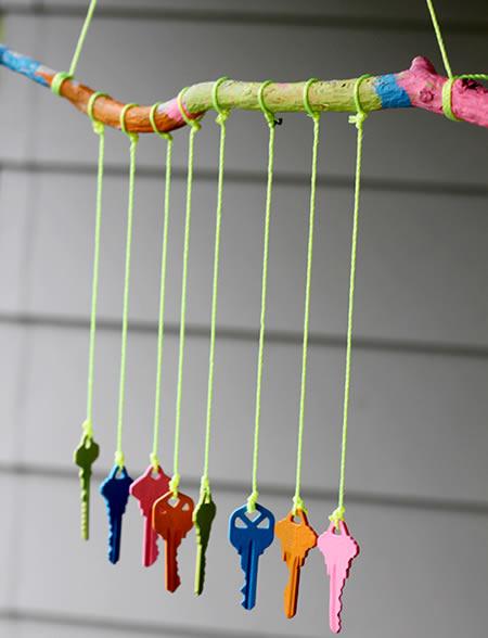 Artesanato Com Chaves Para O Dia Das Crianças