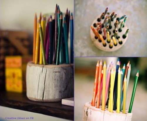 Adesivo Desentupidor De Vaso Sanitário ~ Artesanato com bloco de madeira fácil de fazer