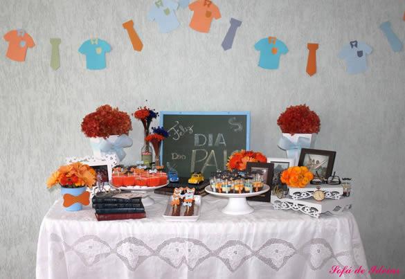 Decoração para o Dia dos Pais