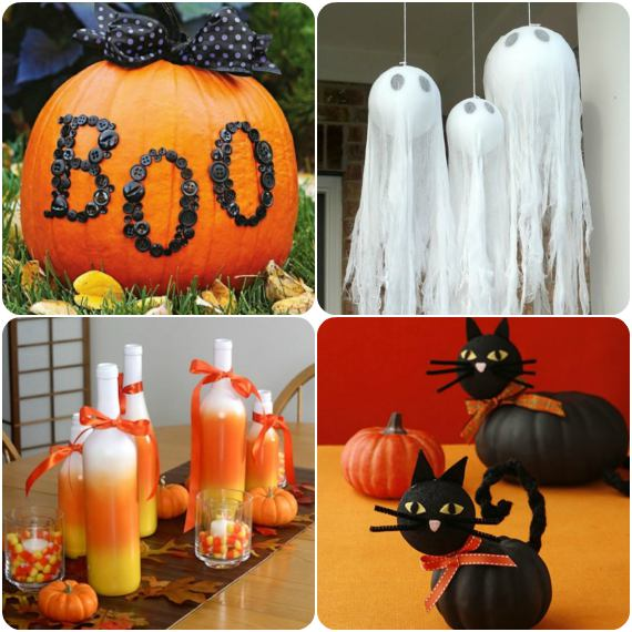 Decoração para Halloween - Dia das Bruxas