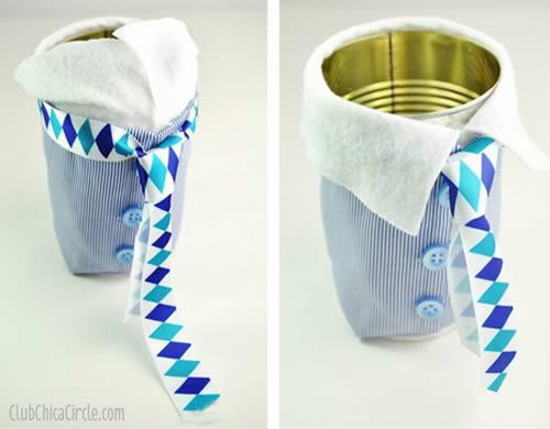 Presente criativo com reciclagem para o Dia dos Pais