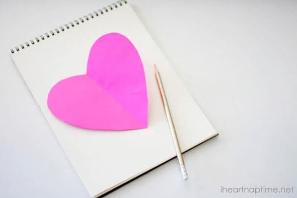 Quadro de coração super lindo passo a passo