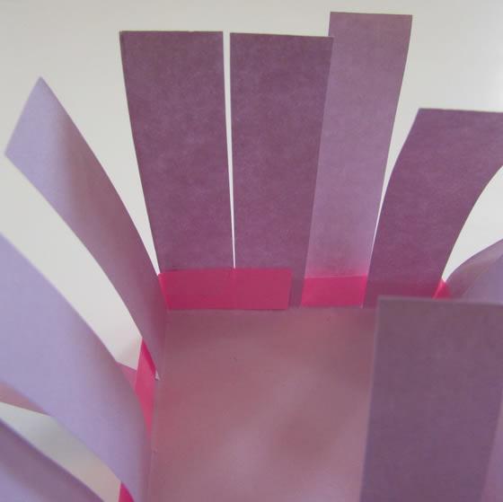 Cestinha de papel para decoração passo a passo