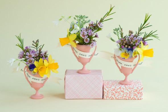 Decoração delicada para o Dia das Mães