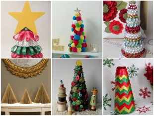 Ideias criativas para fazer enfeites de Natal