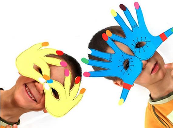 Máscara de Carnaval para Crianças