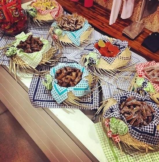 Decoração para Festa Junina barata