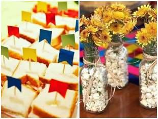 Decoração barata e simples para Festa Junina