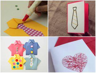 Como Fazer Cartão para Dias dos Pais