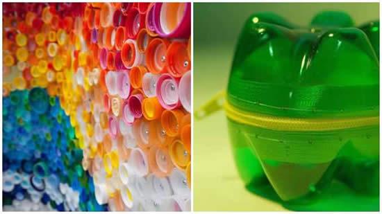 Artesanatos com reciclagem para fazer em casa