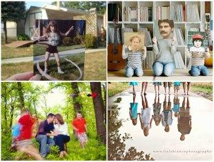 Ideias Criativas para fazer Fotos com a Família