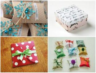 Embalagens para Presentes com Lembrancinhas de Natal