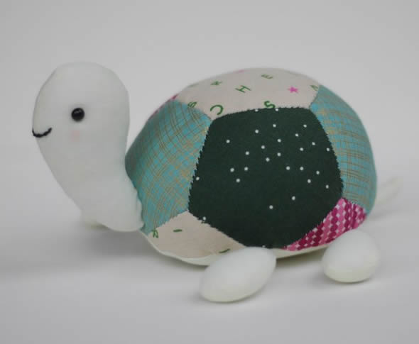 Tartaruga de Tecido Fácil de Fazer passo a passo