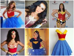 Fantasias de Mulher Maravilha o Carnaval - 20 Ideias Lindas