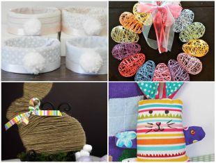 10 Ideias Lindas de Decorações e Lembrancinhas para Animar a sua Páscoa