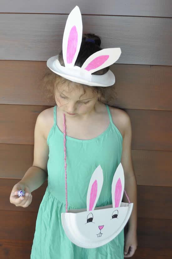 Orelhas de coelho para crianças