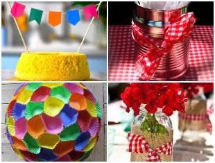 Como fazer Decoração para Festa Junina