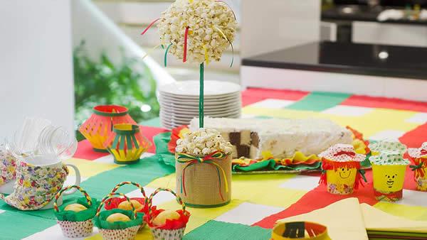 Centro de mesa para Festa Junina