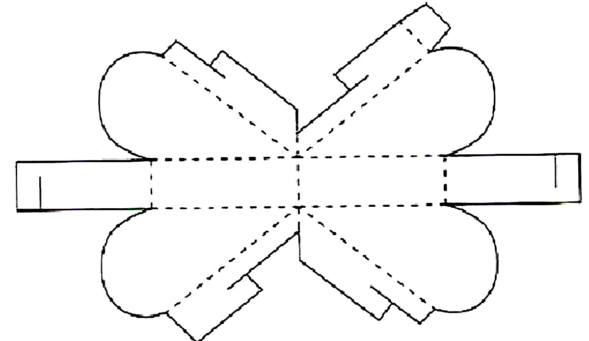 Molde de caixinha simples
