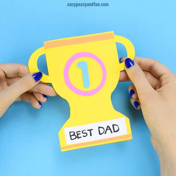 Cartão Criativo para Dia dos Pais Educação Infantil