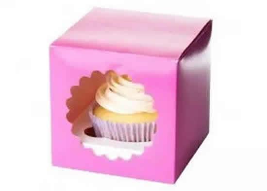Caixinha para cupcake de papel