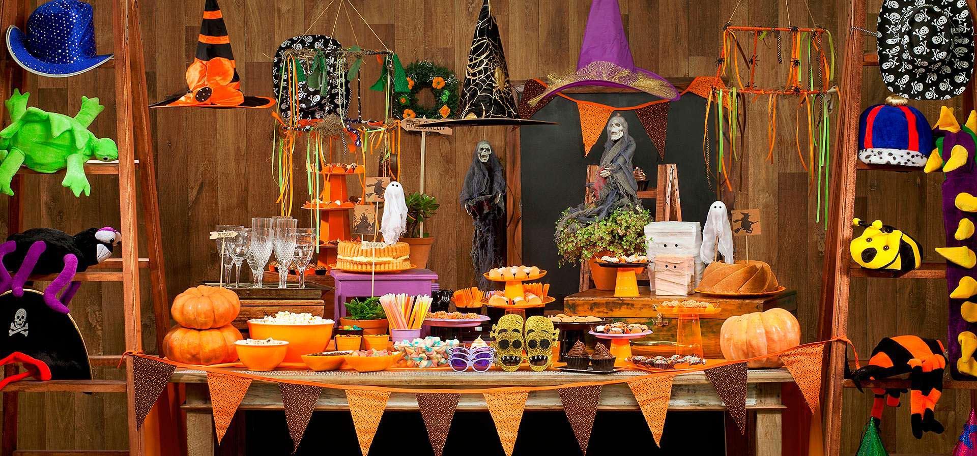 decoração para halloween