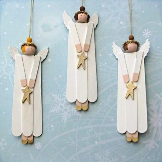 anjos com palitos de pciolé