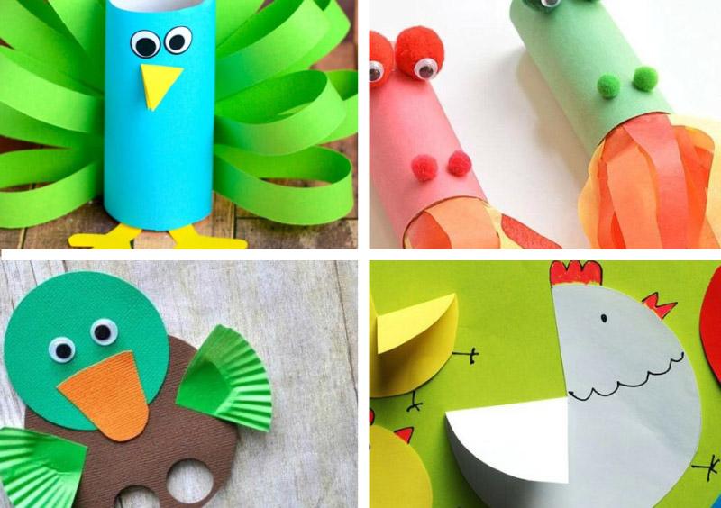 22 ideias de brinquedo de papel reciclado