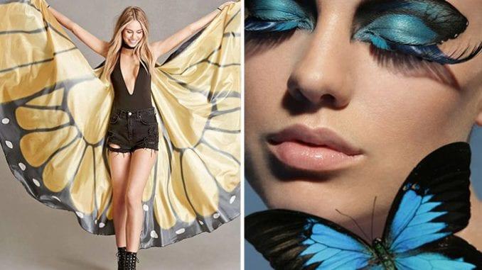 fantasia de borboleta para o carnaval