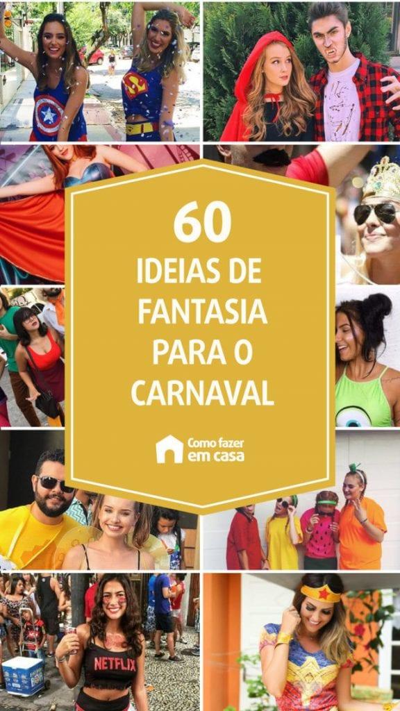 ´fantasia de carnaval 2021