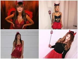 Fantasia de Diabinha para Carnaval
