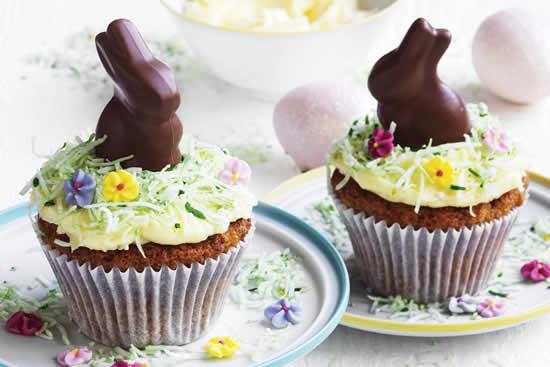 Decoração de cupcake de Páscoa