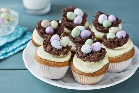 Cupcake decorado para Páscoa