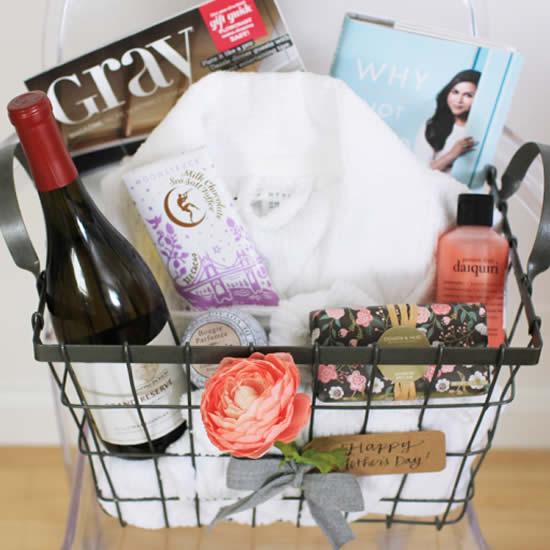 Ideias para cesta de Dia das Mães