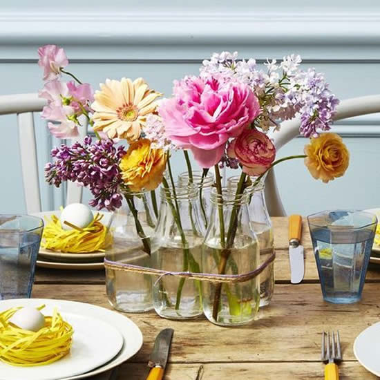 Decoração linda para mesa de Dia das Mães