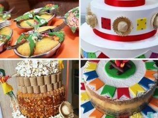 bolos juininos decorados