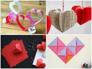 Como fazer Coração de Papel para Decoração