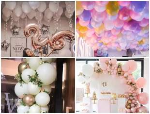 Decoração com Balões para Aniversário
