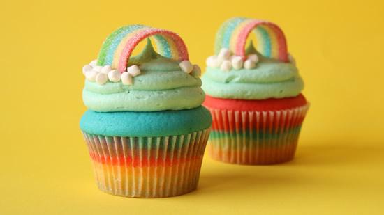 Cupcake para Festa Chuva de Amor