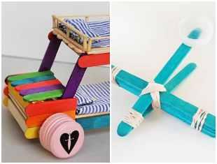 Ideias para fazer brinquedos com palitos de picolé