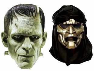 Máscaras para Halloween - Imprima grátis