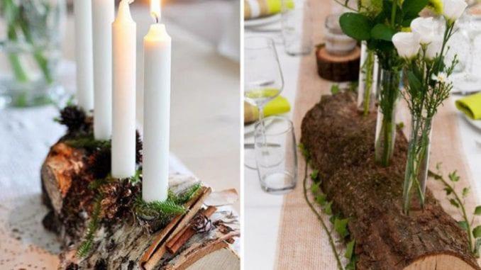 arranjos com troncos para o natal (2)
