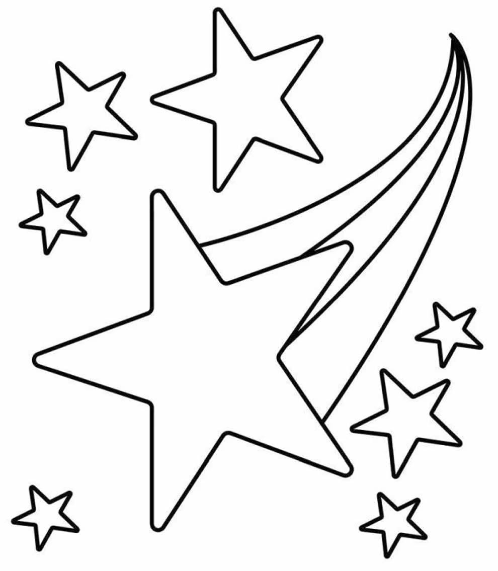 Desenho de Estrela de Natal