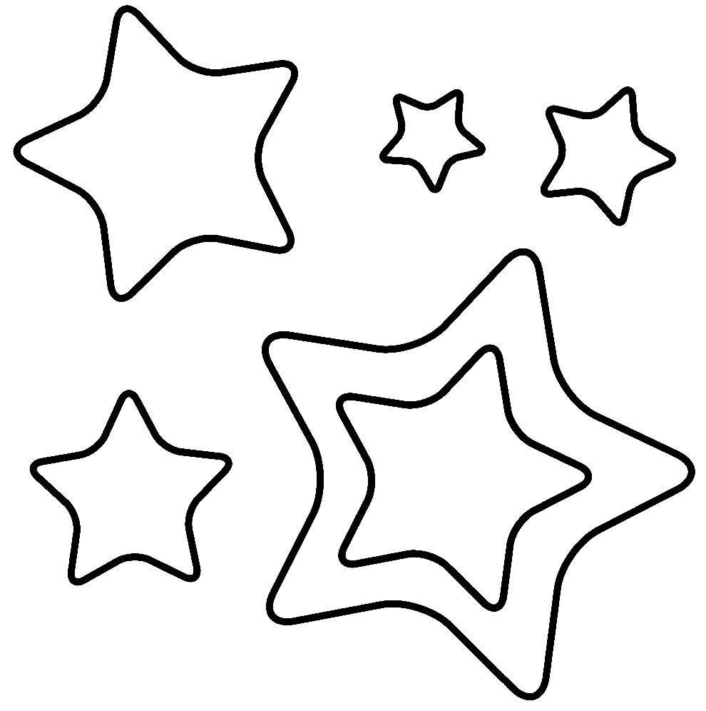 Desenho de Estrelas de Natal