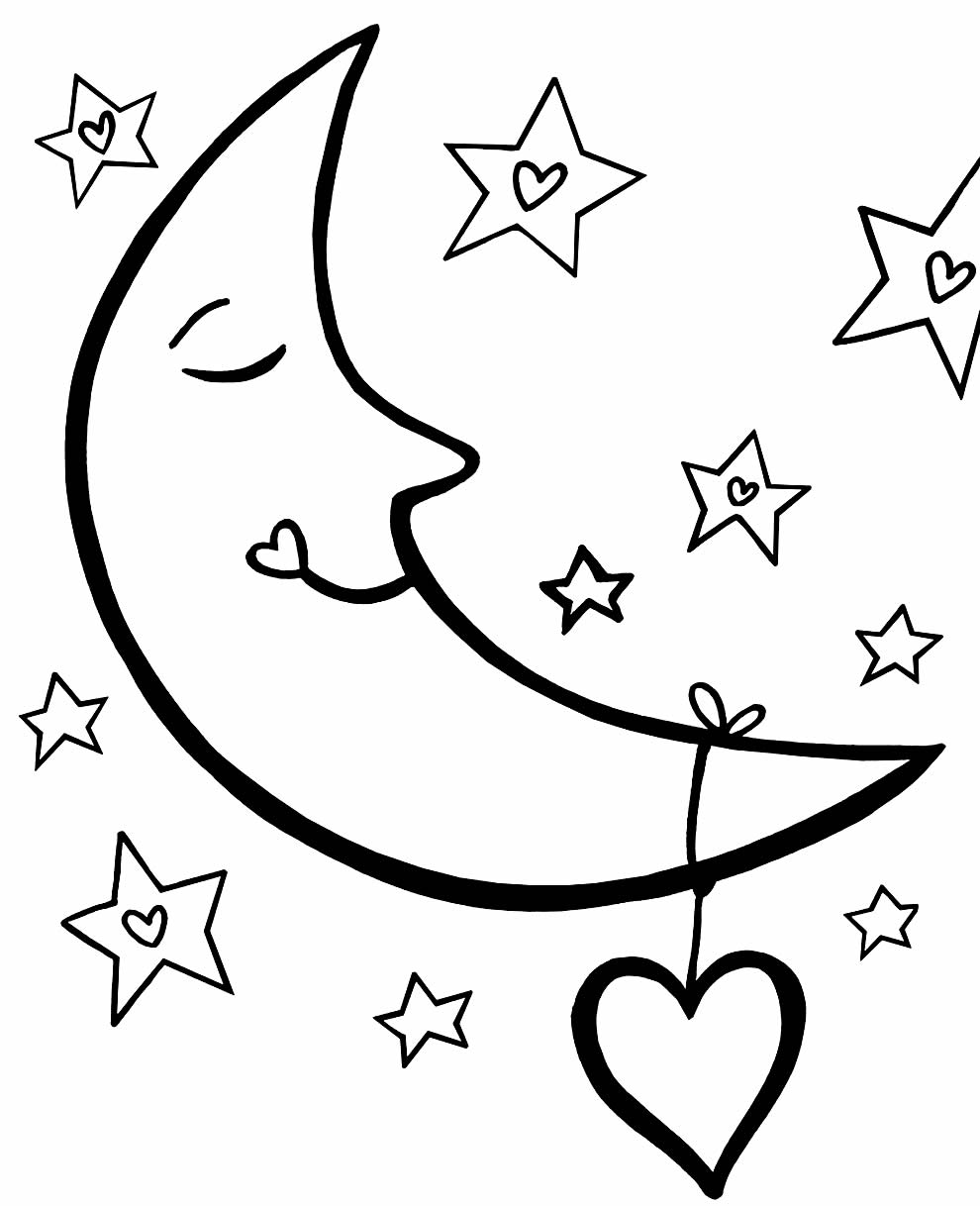 Imagem de Estrelas de Natal para colorir
