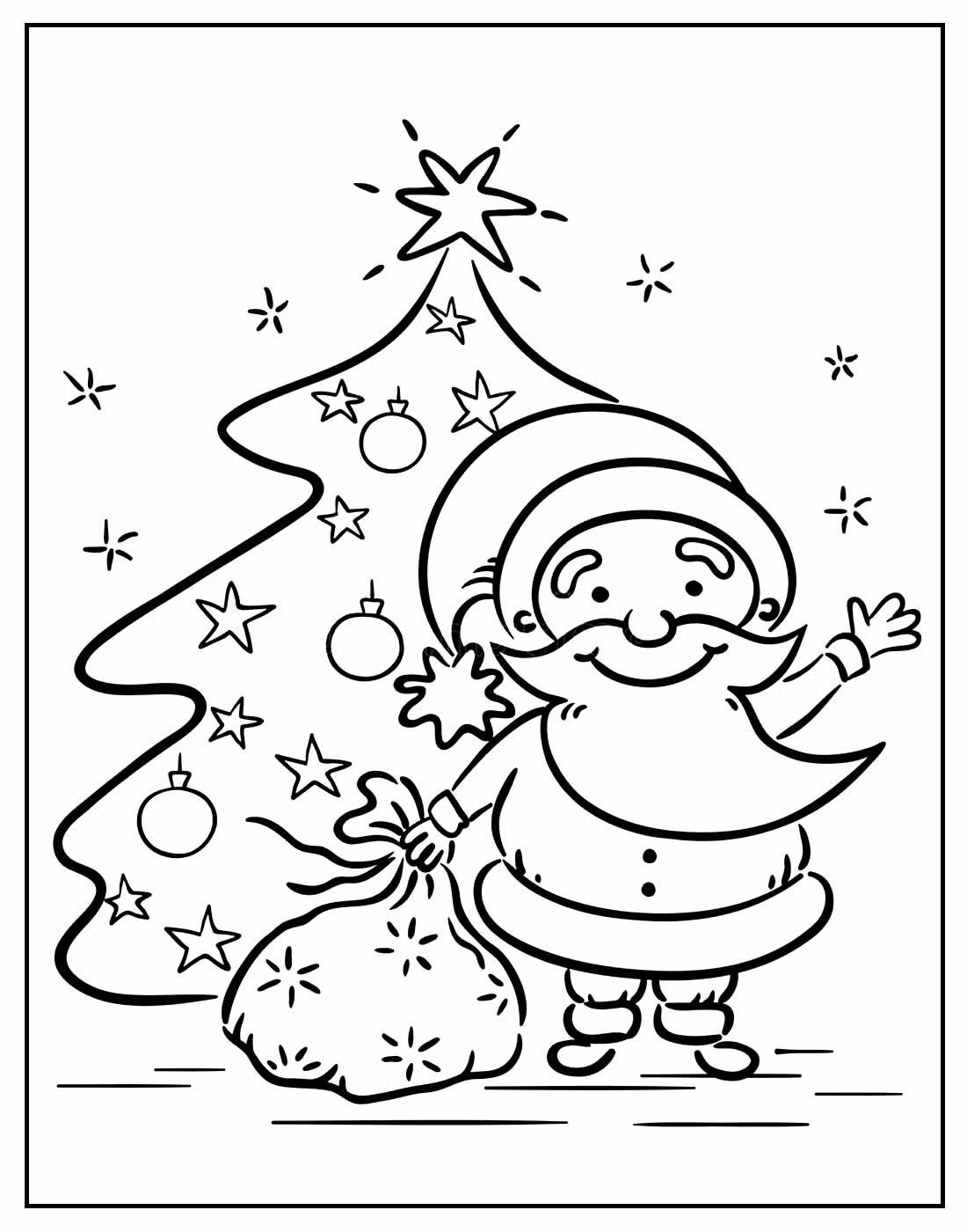 Imagens de Papai Noel com trenó