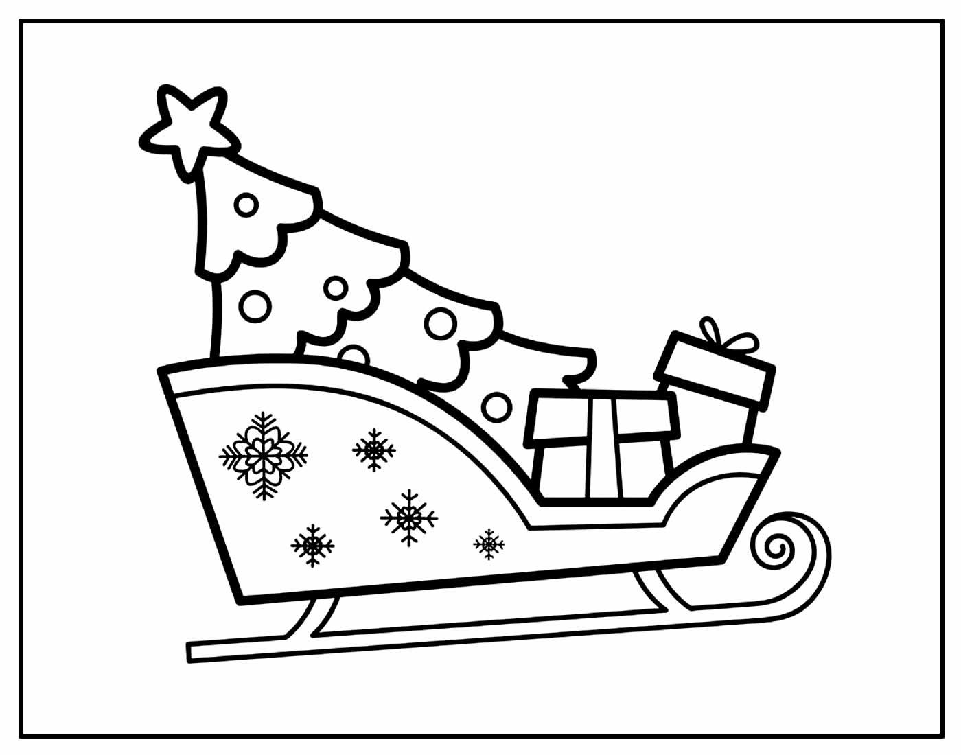Páginas para colorir de Papai Noel
