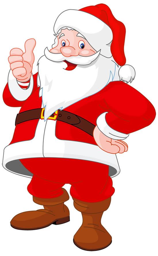 Desenho lindo do Papai Noel